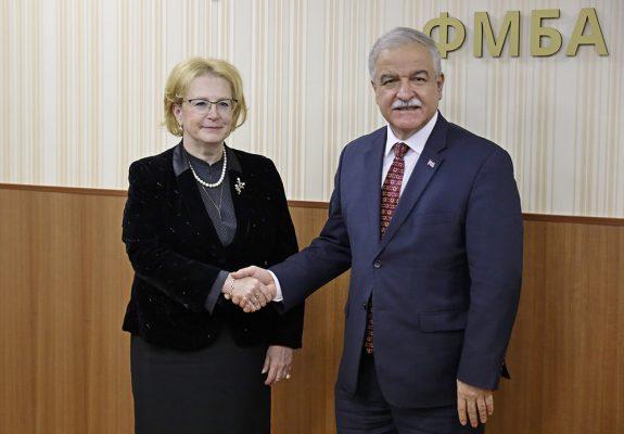 Вероника Скворцова провела рабочую встречу с делегацией Республики Куба